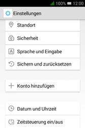 Alcatel Pixi 3 (3.5) - Gerät - Zurücksetzen auf die Werkseinstellungen - Schritt 5
