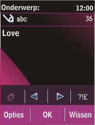 Nokia C2-03 - MMS - afbeeldingen verzenden - Stap 12