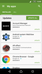 Sony Xperia Z5 - Applications - How to check for app-updates - Step 6