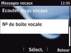 Nokia Asha 201 - Messagerie vocale - configuration manuelle - Étape 7