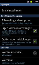 Samsung I8160 Galaxy Ace II - voicemail - handmatig instellen - stap 5