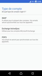 Sony Xperia X - E-mails - Ajouter ou modifier un compte e-mail - Étape 10