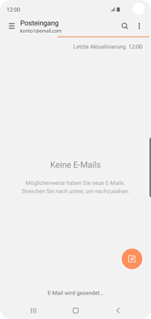 Samsung Galaxy S10 - E-Mail - E-Mail versenden - 21 / 22