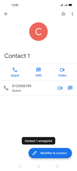 Oppo A72 - Contact, Appels, SMS/MMS - Ajouter un contact - Étape 9