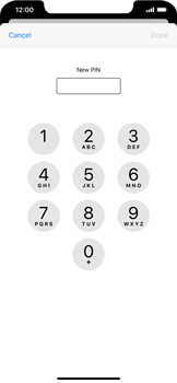 Apple iPhone 11 - Security - Set the PIN code for your SIM card - Step 8