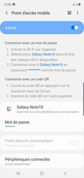 Samsung Galaxy Note 10 - Internet et connexion - Partager votre connexion en Wi-Fi - Étape 13