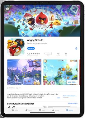 Apple iPad 9.7 (2018) - iPadOS 13 - Apps - Installieren von Apps - Schritt 17
