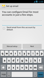 Alcatel One Touch Idol - E-mail - manual configuration - Step 13