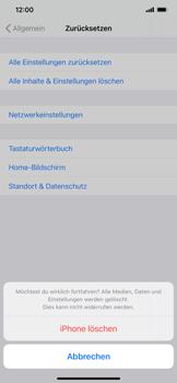Apple iPhone 12 - Gerät - Zurücksetzen auf die Werkseinstellungen - Schritt 7