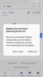 Samsung Galaxy A3 (2017) - Internet und Datenroaming - Verwenden des Internets - Schritt 10