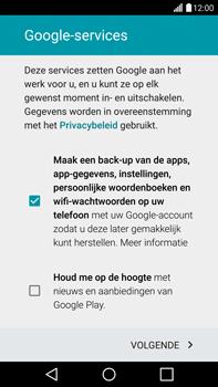 LG G4 - apps - account instellen - stap 14