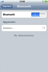 Apple iPhone 3G S - bluetooth - aanzetten - stap 5