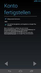 Huawei Ascend Mate - Apps - Konto anlegen und einrichten - Schritt 16
