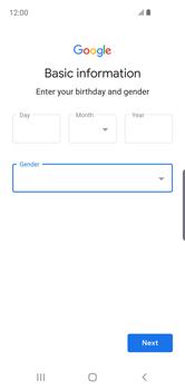 Samsung Galaxy S10e - Applications - Create an account - Step 10