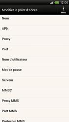 HTC One X - MMS - Configuration manuelle - Étape 9