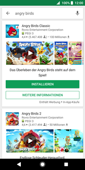 Sony Xperia XZ2 - Apps - Herunterladen - 14 / 17