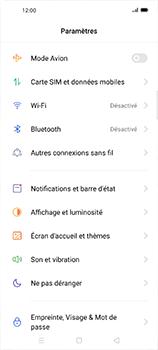 Oppo Find X2 Neo - Internet et connexion - Désactiver la connexion Internet - Étape 4