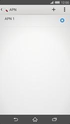 Sony Xperia Z2 - Internet et roaming de données - Configuration manuelle - Étape 8