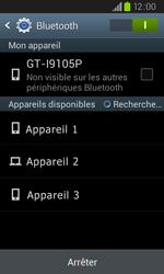 Samsung I9105P Galaxy S II Plus - Bluetooth - connexion Bluetooth - Étape 8