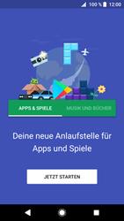 Sony Xperia XZ1 - Apps - Einrichten des App Stores - Schritt 19
