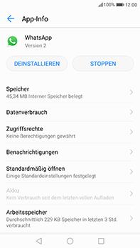 Huawei P10 Plus - Apps - Eine App deinstallieren - Schritt 5
