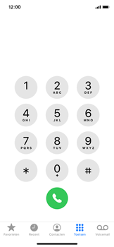 Apple iPhone X - iOS 13 - Voicemail - Voicemail deactiveren - Stap 3