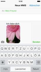 Apple iPhone 5c - MMS - Erstellen und senden - Schritt 15