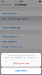 Apple iPhone 6s - Fehlerbehebung - Handy zurücksetzen - Schritt 8
