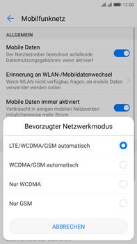 Huawei Mate 9 Pro - Netzwerk - Netzwerkeinstellungen ändern - Schritt 6