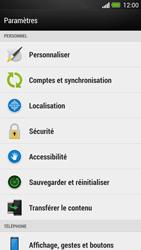 HTC One - Sécuriser votre mobile - Personnaliser le code PIN de votre carte SIM - Étape 4