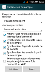 Huawei Y3 - E-mail - Configuration manuelle (outlook) - Étape 9