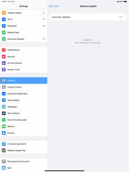Apple iPad Pro 12.9 (1st gen) - ipados 13 - Software - Installing software updates - Step 6