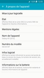 Samsung A510F Galaxy A5 (2016) - Appareil - Mises à jour - Étape 6