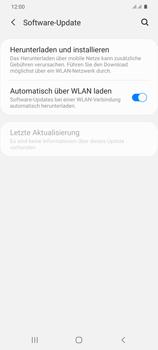 Samsung Galaxy S20 Plus 5G - Software - Installieren von Software-Updates - Schritt 5