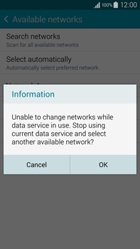 Samsung Galaxy Note 4 - Network - Manual network selection - Step 10