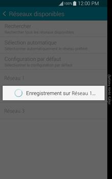 Samsung Galaxy Note Edge - Réseau - Sélection manuelle du réseau - Étape 10