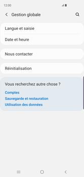 Samsung Galaxy S10 - Téléphone mobile - Réinitialisation de la configuration d