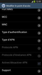 Samsung I9505 Galaxy S IV LTE - Internet - Configuration manuelle - Étape 12