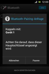 Sony Xperia E - Bluetooth - Geräte koppeln - Schritt 9