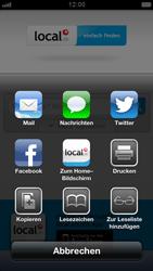 Apple iPhone 5 - Internet und Datenroaming - Verwenden des Internets - Schritt 10