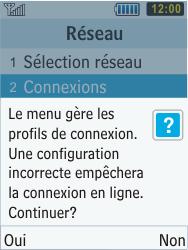 Samsung C3350 Xcover 2 - Internet - Configuration manuelle - Étape 6