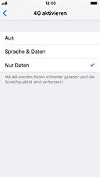 Apple iPhone SE - Netzwerk - Netzwerkeinstellungen ändern - 6 / 7