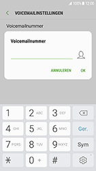 Samsung G930 Galaxy S7 - Android Nougat - Voicemail - Handmatig instellen - Stap 8