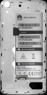 Huawei Y6 - SIM-Karte - Einlegen - Schritt 5