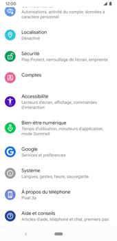 Google Pixel 3a - Sécuriser votre mobile - Activer le code de verrouillage - Étape 4