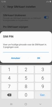 Samsung Galaxy J4 Plus - Beveiliging - Stel de pincode voor je simkaart in - Stap 9