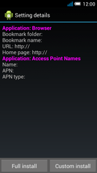 Alcatel OT-7041X Pop C7 - Internet - Automatic configuration - Step 6