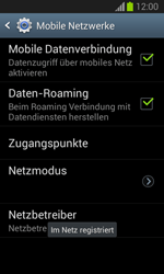 Samsung Galaxy Trend Lite - Netzwerk - Manuelle Netzwerkwahl - Schritt 10