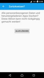 Sony E5823 Xperia Z5 Compact - Fehlerbehebung - Handy zurücksetzen - 2 / 2
