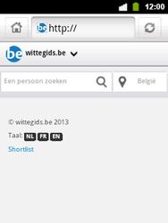 Alcatel OT-903 - Internet - hoe te internetten - Stap 11